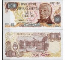 Аргентина 1000 песо 1976-1983