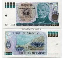 Аргентина 1000 песо 1983-1985
