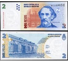 Аргентина 2 песо 2002 (2014)