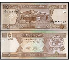 Афганистан 5 афгани 2002