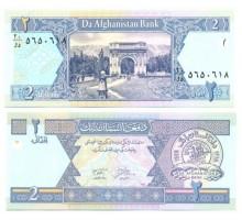 Афганистан 2 афгани 2002