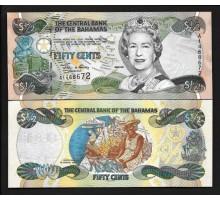 Багамские острова 1/2 доллара 2001