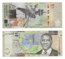 Багамские острова 1 доллар 2017