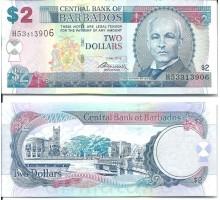 Барбадос 2 доллара 2012
