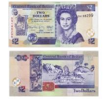 Белиз 2 доллара 2014