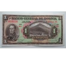 Боливия 1 боливиано 1928