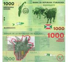 Бурунди 1000 франков 2015