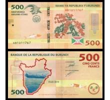 Бурунди 500 франков 2015