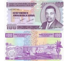Бурунди 100 франков 2011