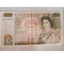 Великобритания 50 фунтов 1991