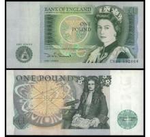 Великобритания 1 фунт 1978