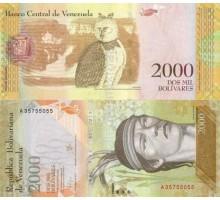 Венесуэла 2000 боливаров 2016