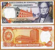 Венесуэла 50 боливар 1995