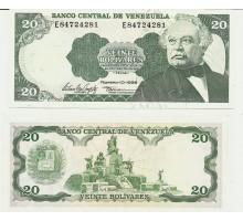 Венесуэла 20 боливаров 1998