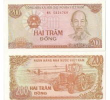 Вьетнам 200 донгов 1987