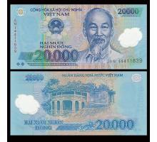Вьетнам 20000 донг 2014 (полимер)
