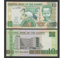 Гамбия 10 даласи 2013