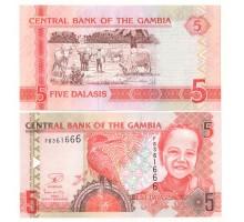 Гамбия 5 даласи 2013