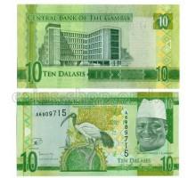 Гамбия 10 даласи 2015
