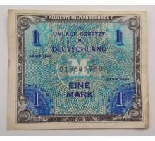 Германия 1 марка 1944. Союзная оккупация 9 цифр