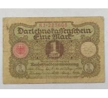 Германия 1 марка 1920 8 цифр