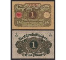 Германия 1 марка 1920 (номер 8 цифр)
