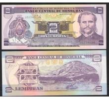 Гондурас 2 лемпиры 2006