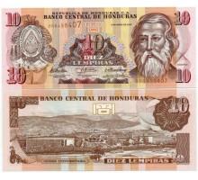 Гондурас 10 лемпира 2010