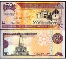 Доминикана 50 песо 2011