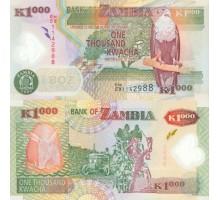 Замбия 1000 квача 2009 полимер