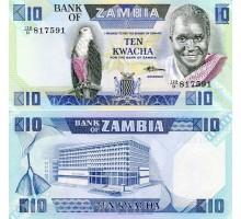 Замбия 10 квач 1986-1988