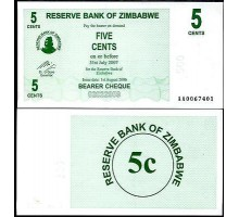 Зимбабве 5 центов 2006