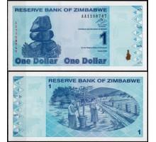 Зимбабве 1 доллар 2009