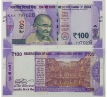Индия 100 рупий 2018