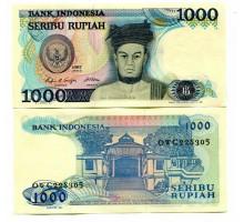 Индонезия 1000 рупии 1987