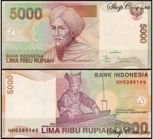 Индонезия 5000 рупий 2001-2016