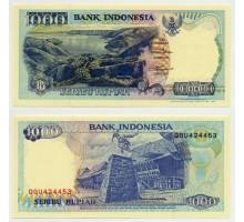 Индонезия 1000 рупий 1992