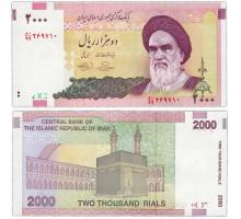 Иран 2000 риалов 1992-2011