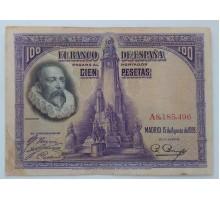 Испания 100 песет 1928