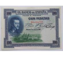 Испания 100 песет 1925