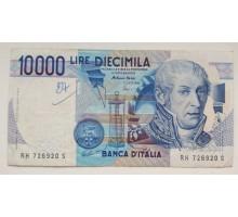 Италия 10000 лир 1984