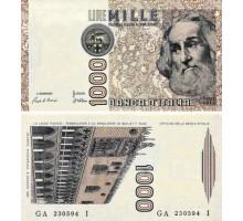 Италия 1000 лир 1982