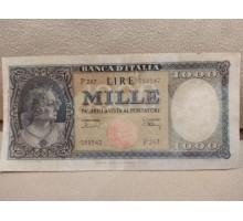 Италия 1000 лир 1947