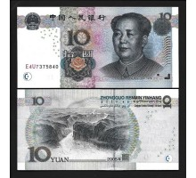 Китай 10 юаней 2005