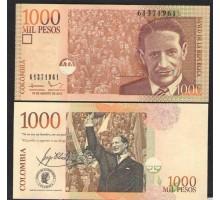 Колумбия 1000 песо 2015