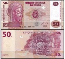 Конго 50 франков 2013