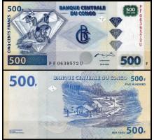 Конго 500 франков 2002