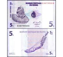 Конго 5 сантим 1997