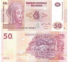 Конго 50 Франков 2007