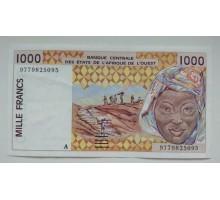 Кот-д-Ивуар 1000 франков 1998